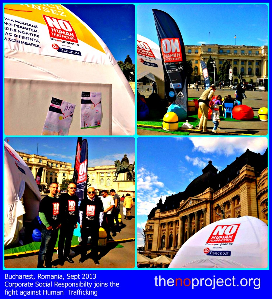 Bucharest, Romania The NO Project Tent