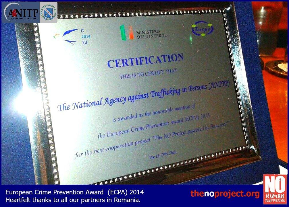 EU award ANITP